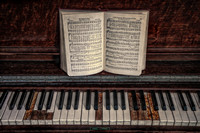 Old Hymnal and Piano
